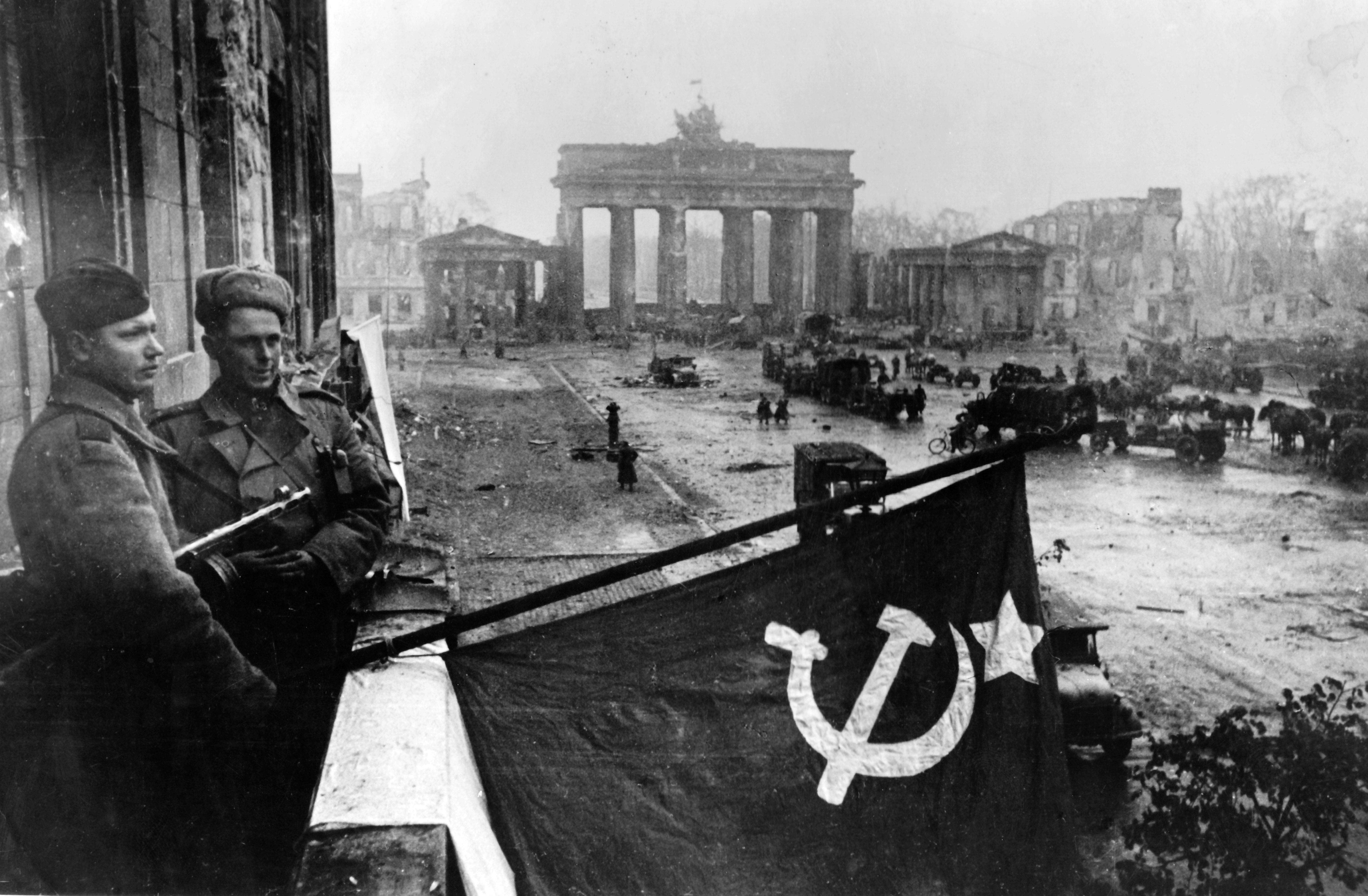 End of the war - Red Army in Berlin 1945